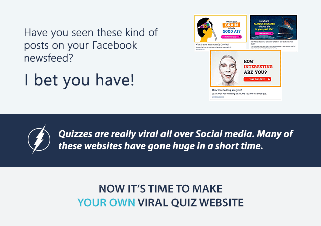 Viral Quiz website script